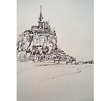Le Mont Saint Michel Photographic Print