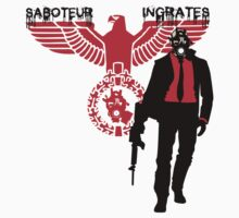 SABOTUER INGRATES by bluebaby