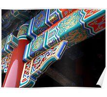 Oriental Color Poster