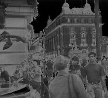 Piccadily circus by Streetpages