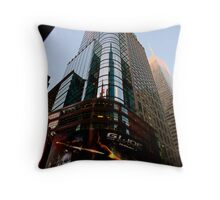 Return To 42nd Street Throw Pillow