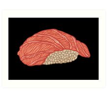 Anatomical Sushi Art Print
