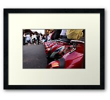 Camden Seating Framed Print