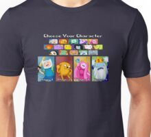 Character Select Unisex T-Shirt