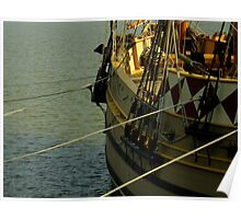 Jamestown Settlement Ships ~ Part Two Poster