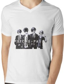 Psycho-Pass Mens V-Neck T-Shirt