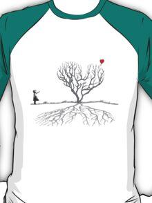 Banksy Heart Tree Shirt T-Shirt