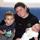 Michaela and Her Nephews by AnnDixon