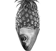 Fishy Pineapple  by cristina Barron