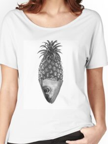Fishy Pineapple  Women's Relaxed Fit T-Shirt