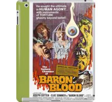 Baron Blood (Green) iPad Case/Skin