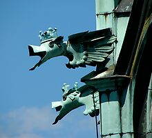 Dragons in Prague by snefne