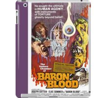 Baron Blood (Purple) iPad Case/Skin