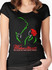 Widow and the Beast Women's Fitted Scoop T-Shirt
