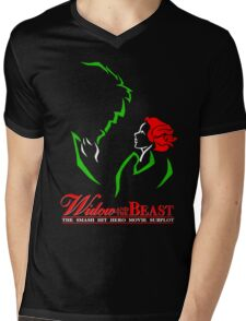 Widow and the Beast Mens V-Neck T-Shirt