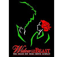 Widow and the Beast Photographic Print