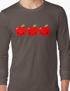 Apple Apple Apple! Long Sleeve T-Shirt