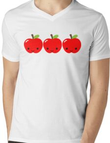 Apple Apple Apple! Mens V-Neck T-Shirt