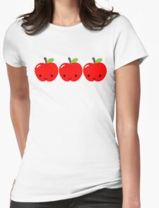 Apple Apple Apple! Womens Fitted T-Shirt