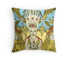 trilogy of the king Throw Pillow