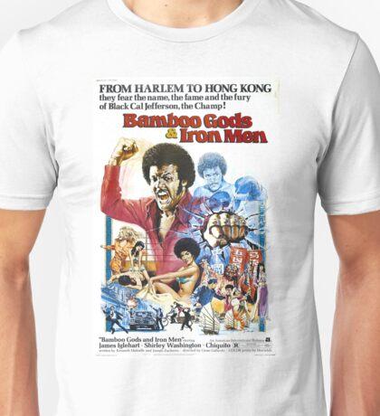 Bamboo Gods & Iron Men (Red) Unisex T-Shirt