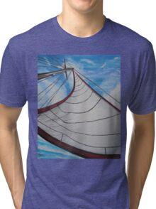 Sailing wind Tri-blend T-Shirt