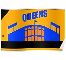 Queens Subway Card Poster