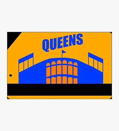 Queens Subway Card Photographic Print