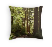 Trail to Sol Duc Falls Throw Pillow