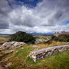 Wales : Harlech castle by Angie Latham