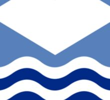 Flag of the Isle of Wight  Sticker