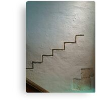 Missing Stair. Canvas Print