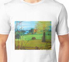 Over Lake Brome Unisex T-Shirt