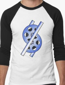 The 50 Fifty Reel Logo Men's Baseball ¾ T-Shirt