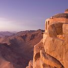 Mt. Sinai Summit of Egypt by Andre Roberts