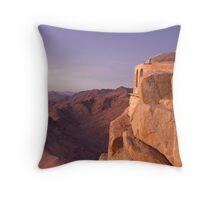 Mt. Sinai Summit of Egypt Throw Pillow