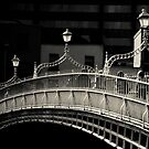 Ha'penny Bridge, Dublin by Margaret Morrissey
