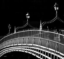 Ha'penny Bridge, Dublin by Margaret Morrissey