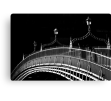 Ha'penny Bridge, Dublin Canvas Print