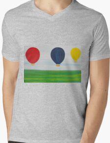 Hot air balloon Mens V-Neck T-Shirt