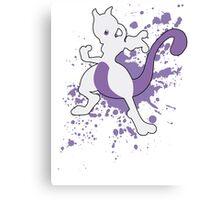 Mewtwo - Super Smash Bros Canvas Print