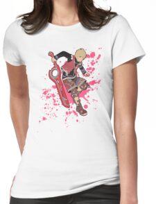 Shulk - Super Smash Bros Womens Fitted T-Shirt