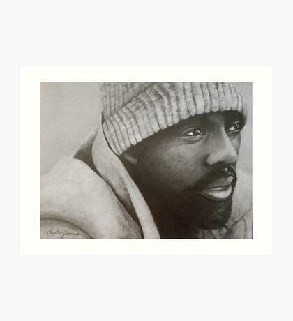 Idris Elba Art Print