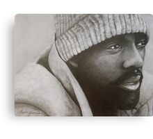 Idris Elba Canvas Print