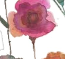 Taylor Swift Flower Watercolor Sticker
