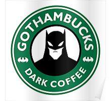 Batman - Starbucks Parody Poster