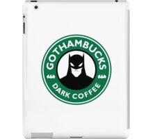 Batman - Starbucks Parody iPad Case/Skin