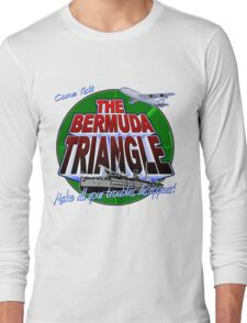 Bermuda Triangle Long Sleeve T-Shirt