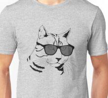 Cool Cat Shades.  Unisex T-Shirt