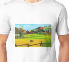 Hay Field Unisex T-Shirt